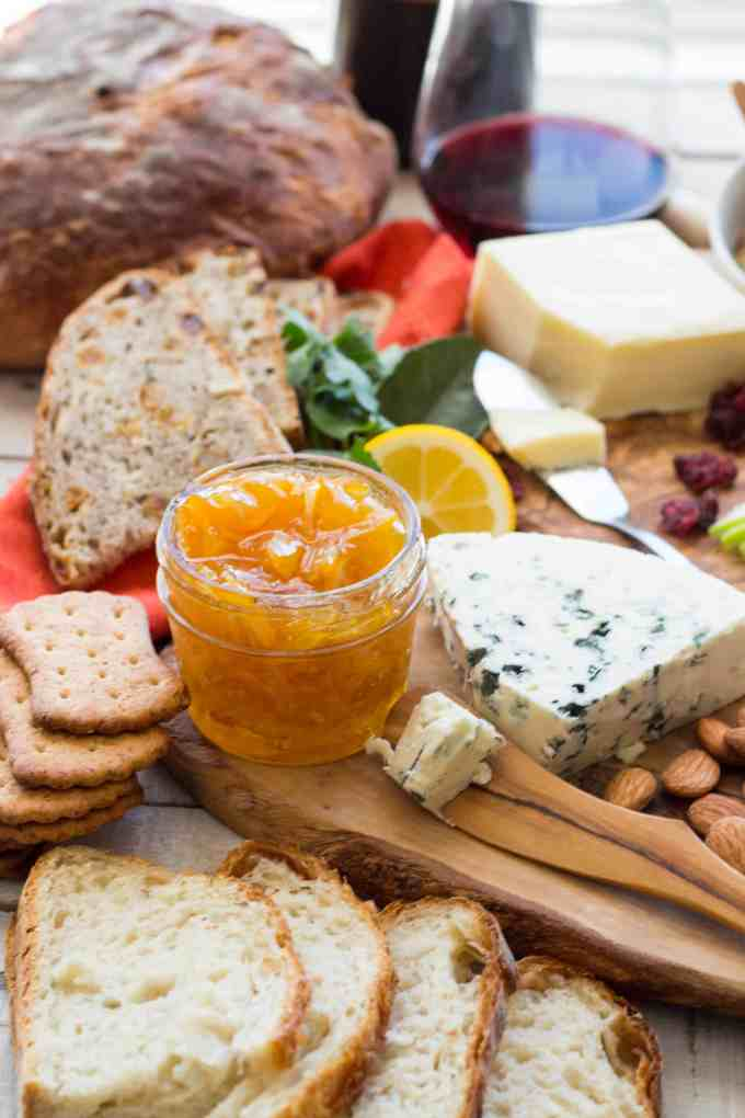 How to Create an Epic Cheese Board + Meyer Lemon Marmalade