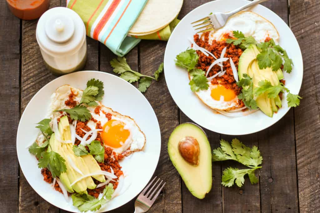 Chorizo con Huevos (Video!)