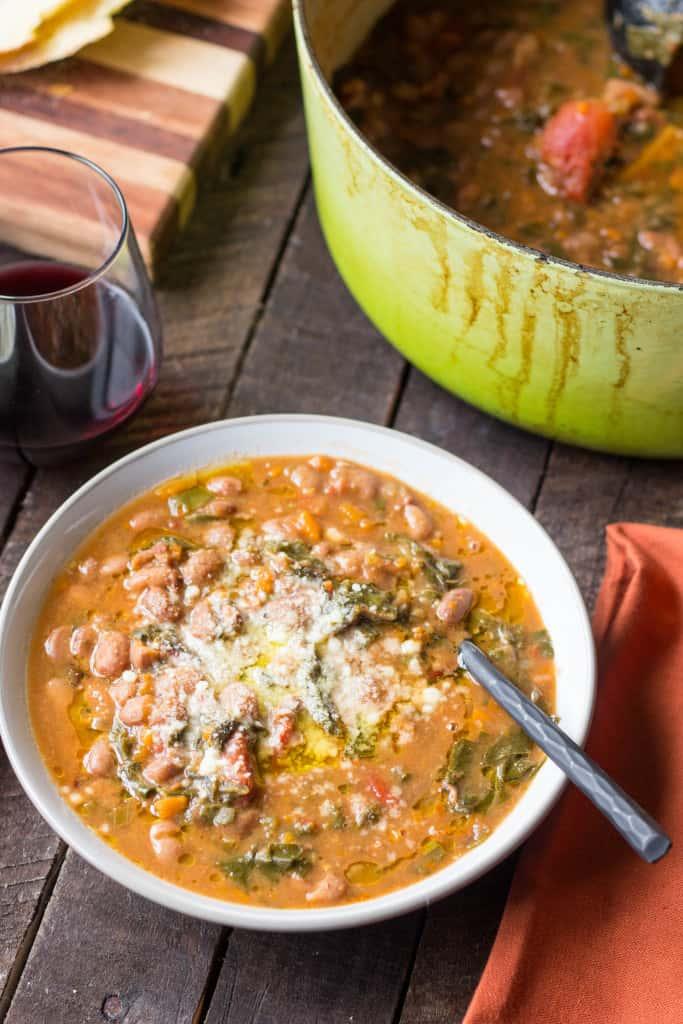 Cranberry Bean Ribolita