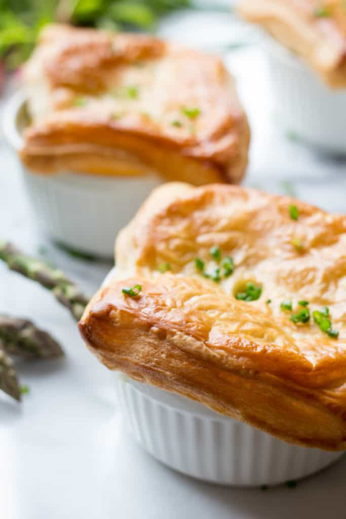 Spring Chicken Pot Pie