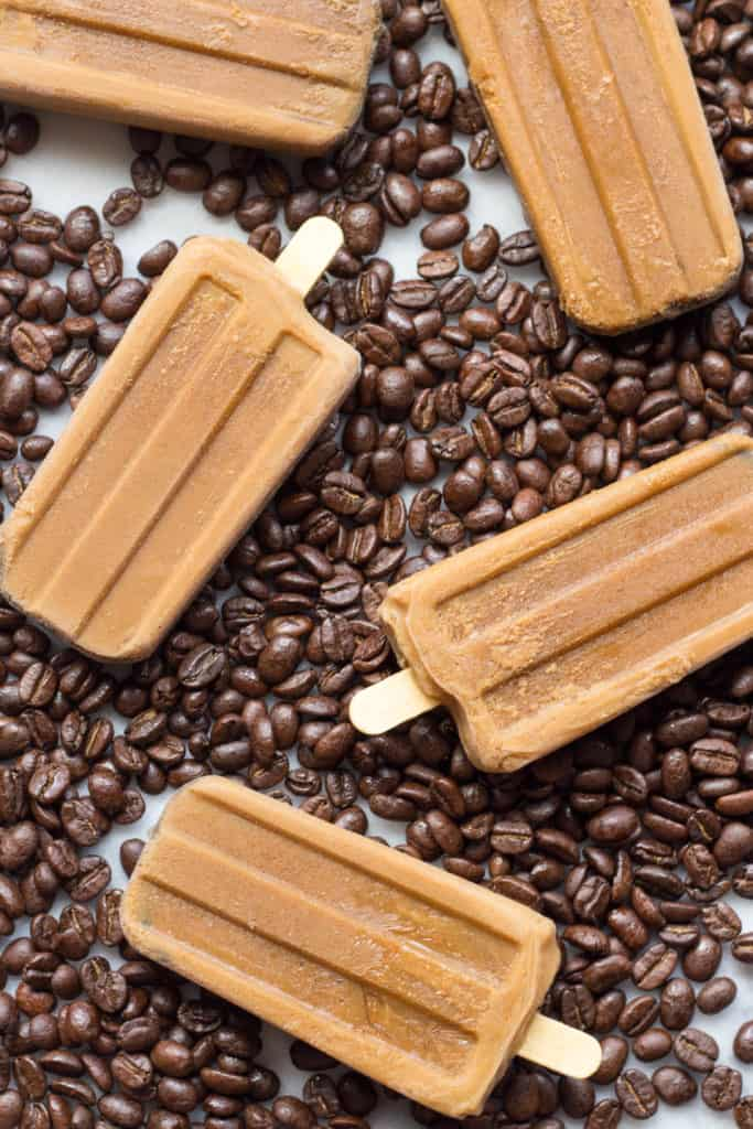 Vietnamese Coffee Popsicles