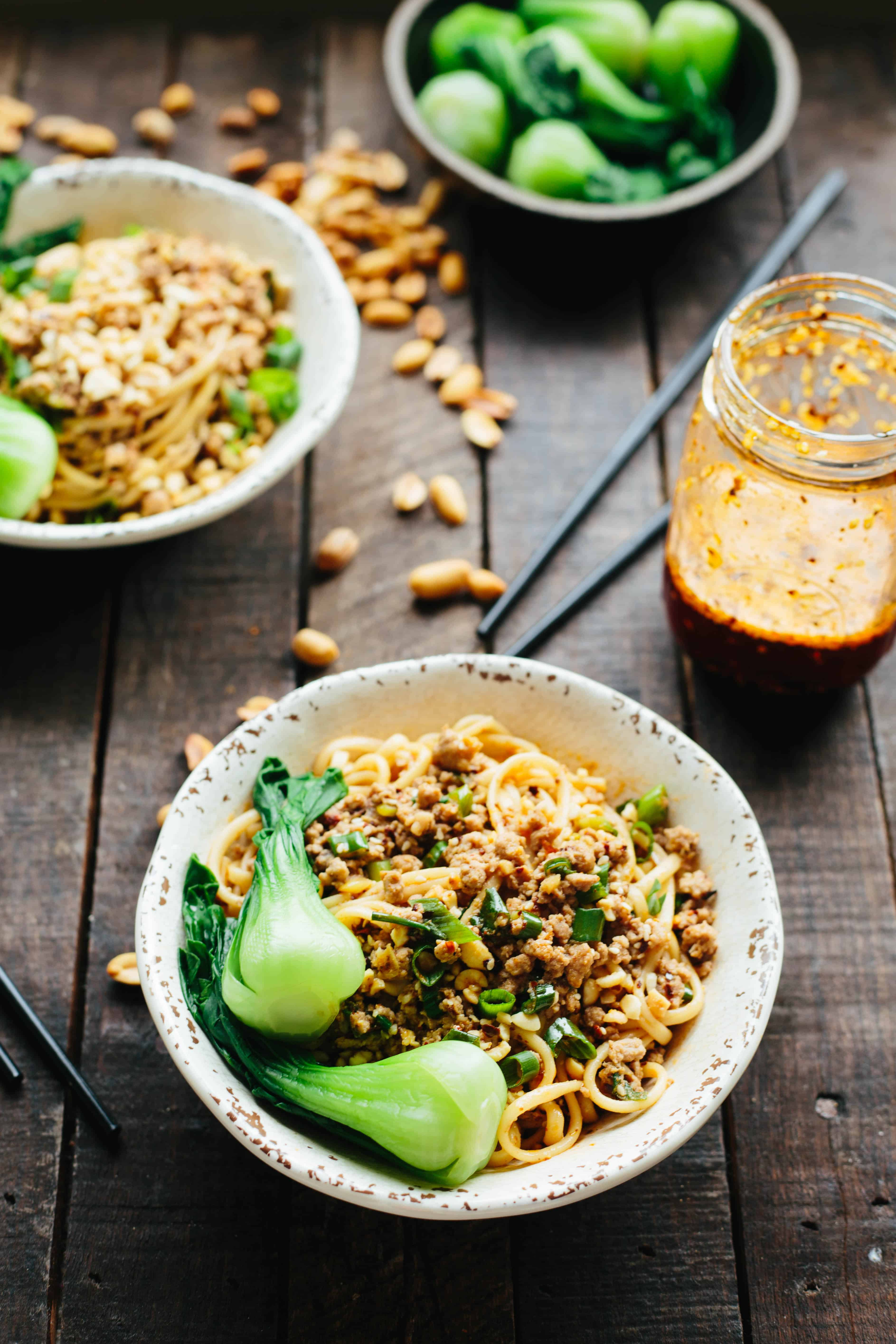 Dan dan noodles coley cooks in my attempt to master dan dan noodles i had to do quite a bit of research i love eating chinese food and while ive dabbled in cooking it before forumfinder Image collections