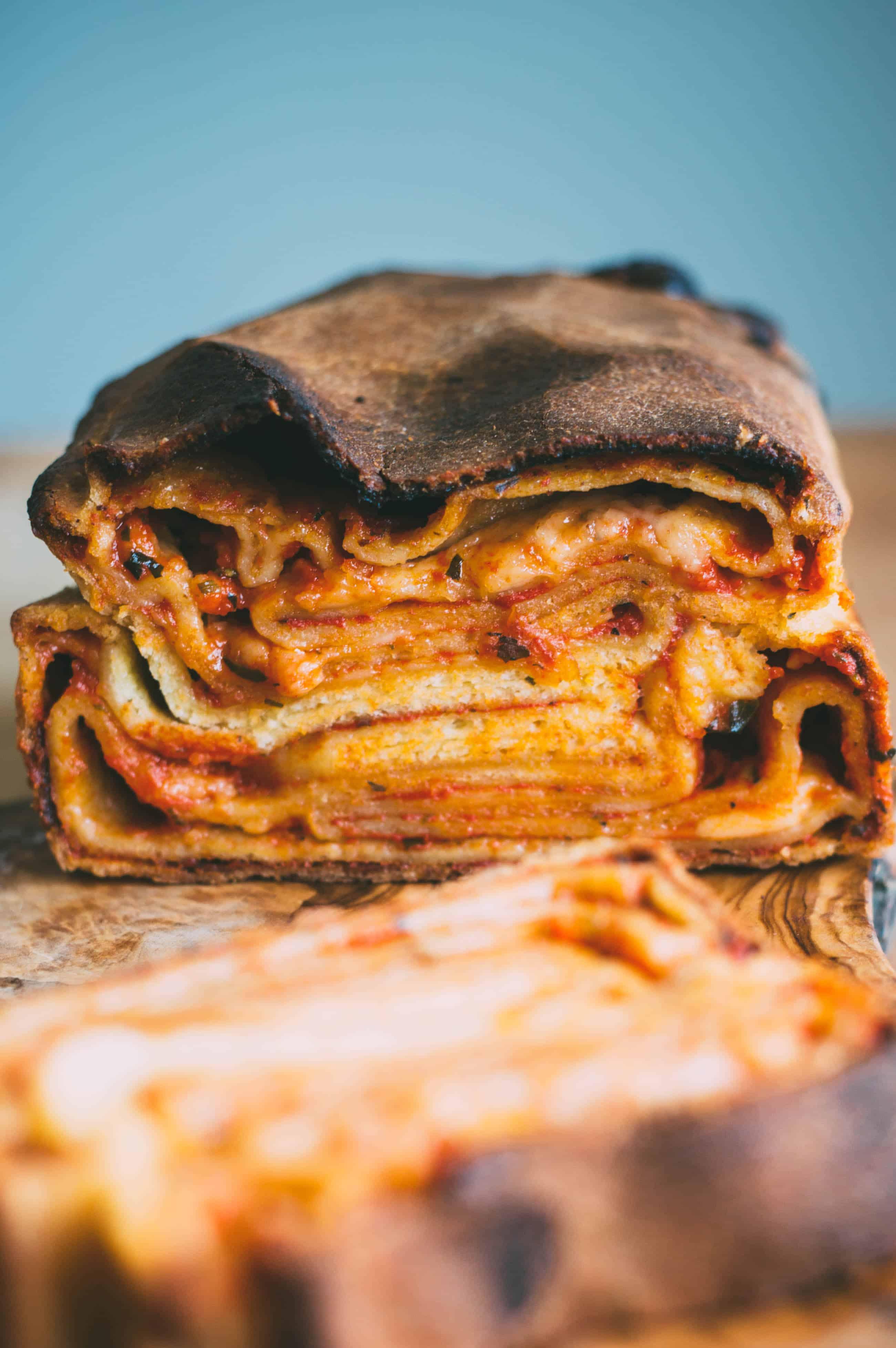 """Scaccia: Sicilian """"Pizza Babka"""""""