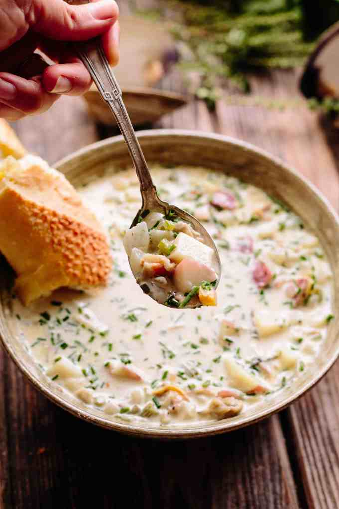 New England Clam Chowder | Simple, Classic, Delicious | ColeyCooks.com