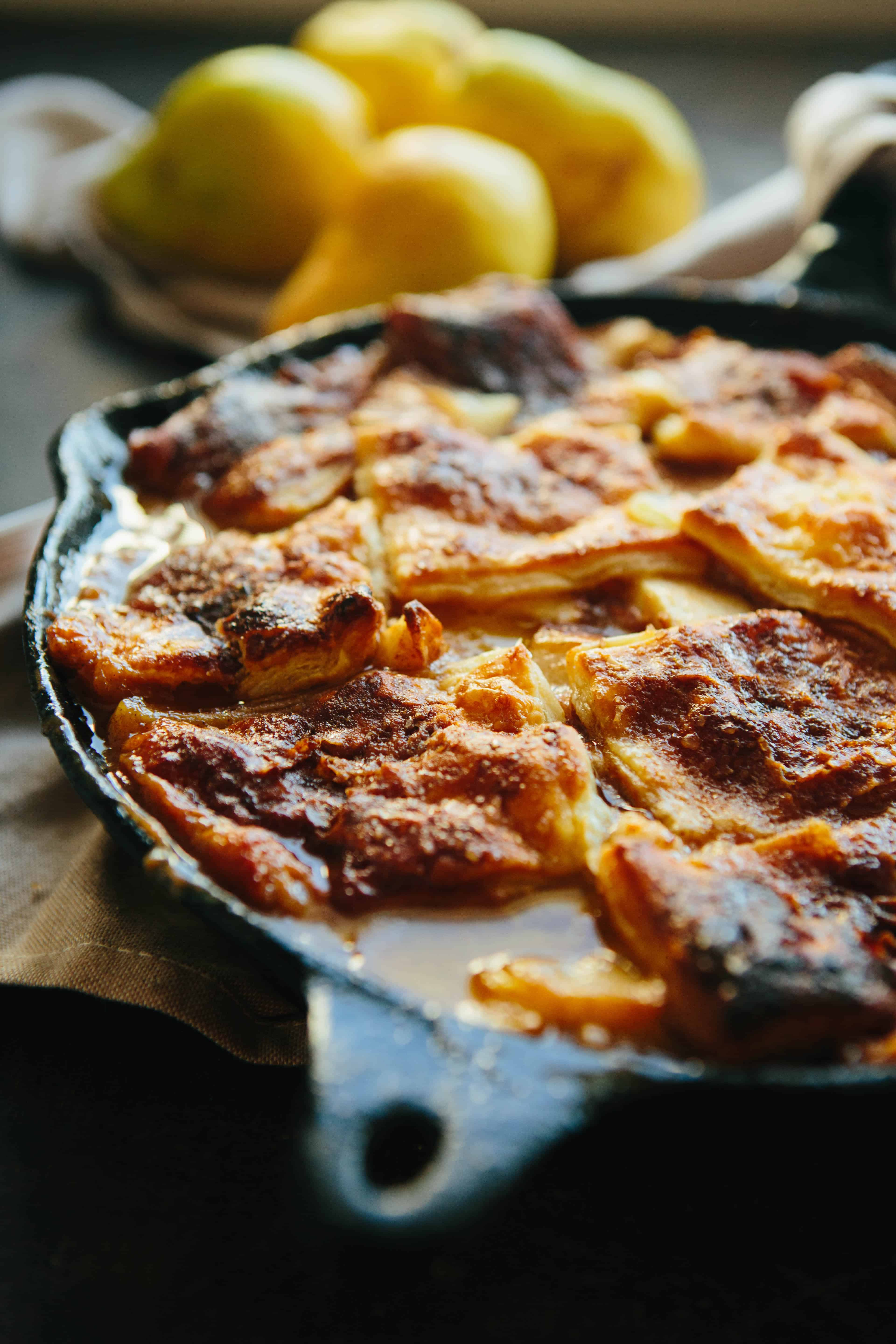 Brown Butter Pear Pandowdy | ColeyCooks.com