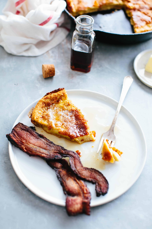 Oatmeal Dutch Baby Pancake