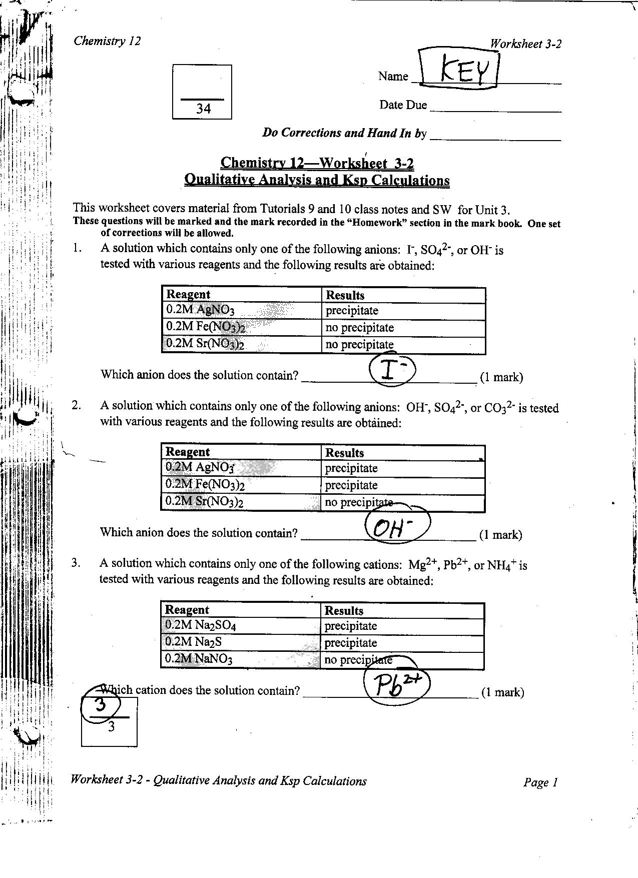 Acid Base Titration Calculations Worksheet