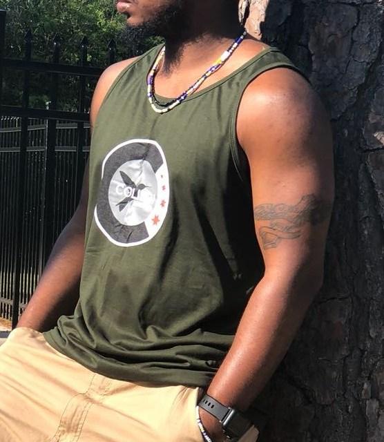 Green Colibri 'Chicago' Logo Tank top