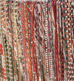 colibri medicine colorful peruvian wrap bracelet