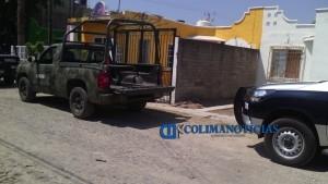 Detectan presuntas casas de seguridad y detienen a tres individuos en Manzanillo