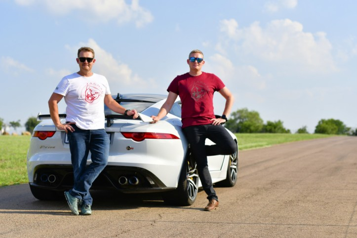 Mark and Gavin Cronje - Jaguar F-TYPE SVR