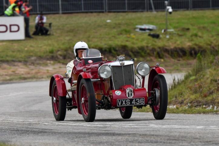 Alexander Krahe - 1937 MG TA-Q 2