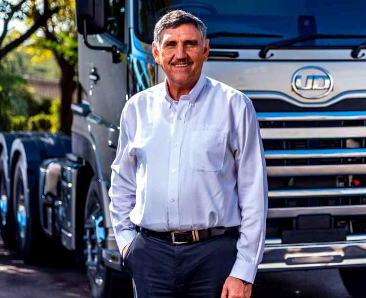 Gert Swanepoel MD UD Trucks Southern Africa