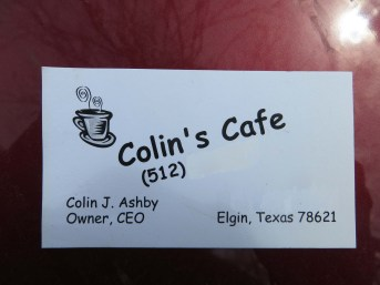 Colin Ashby cafe