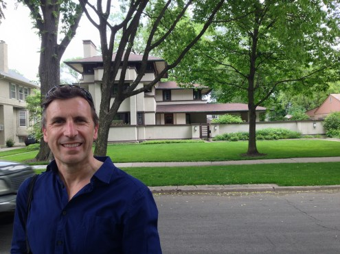 Happiness is a Frank Lloyd Wright house...