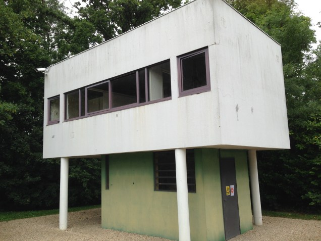 Gardener's house, Villa Savoye