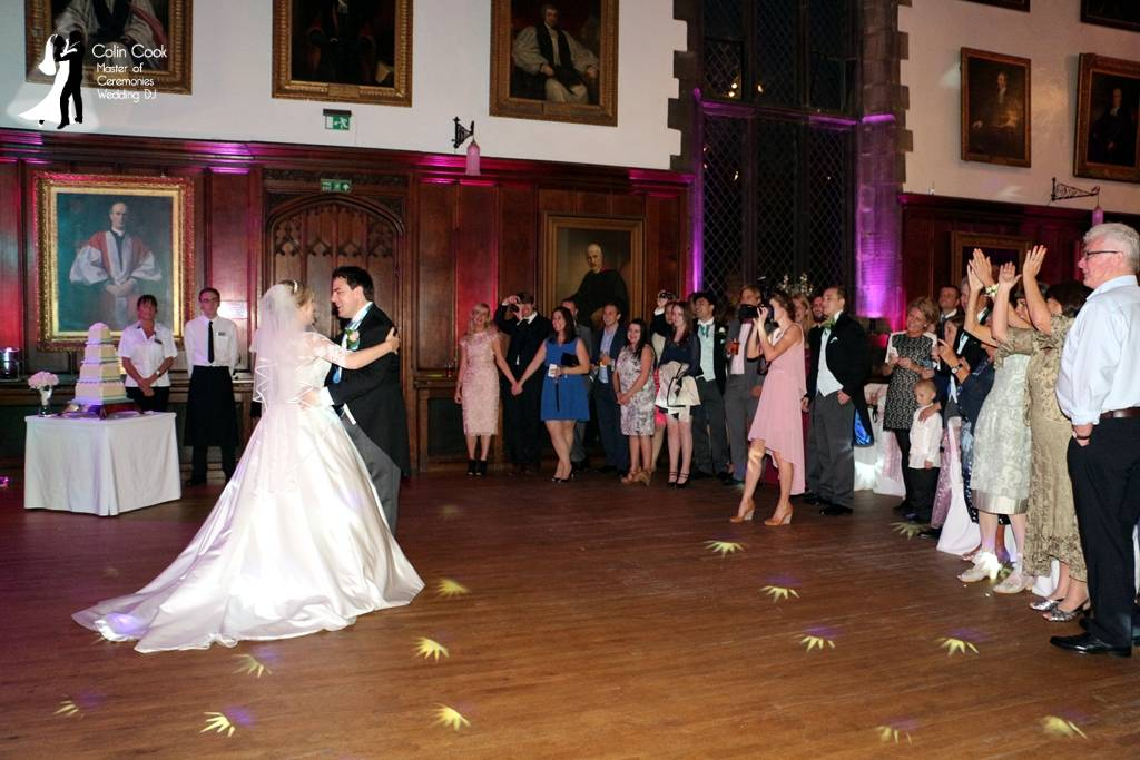 Another perfectly handled First Dance for an amazing Durham Castle Wedding