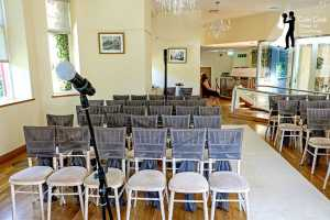 Set up for Wedding Ceremony and Readings at Saltwell Towers, Gateshead. Master of Ceremonies, Ceremony Music, Wedding DJ