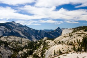 Half Dome from Omsted
