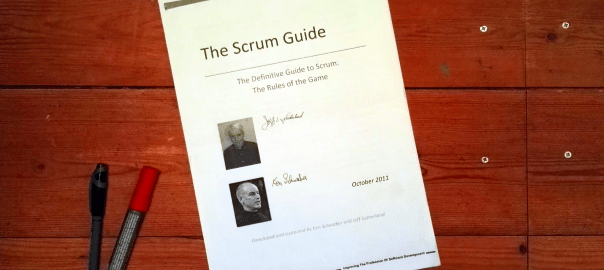Rules in Scrum - The Scrum Guide