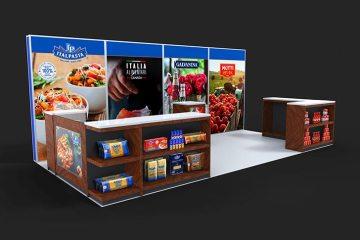 Italpasta tradeshow booth design