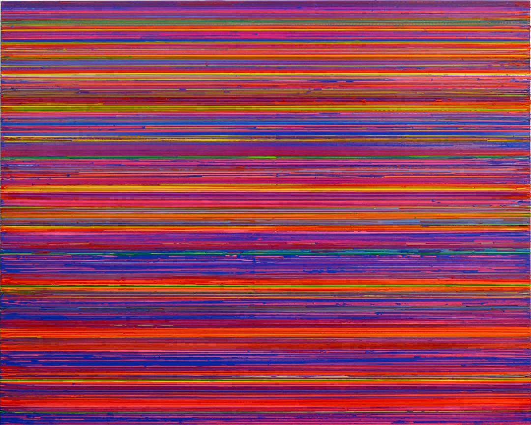 Interference Blue Violet Orange 2014