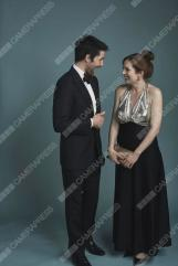 SPECIAL PRICE. RETOUCH REQUIRED. Northern Irish Actor, Colin Morgan and British Actress, Katherine Parkinson