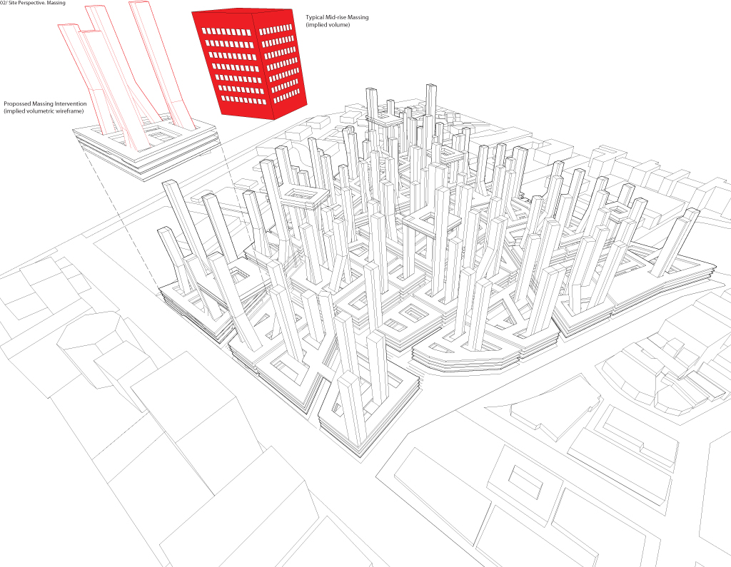 Wireframe City Colin Prothero