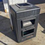 Gas station windshield wash basins often harbor mosquito larvae