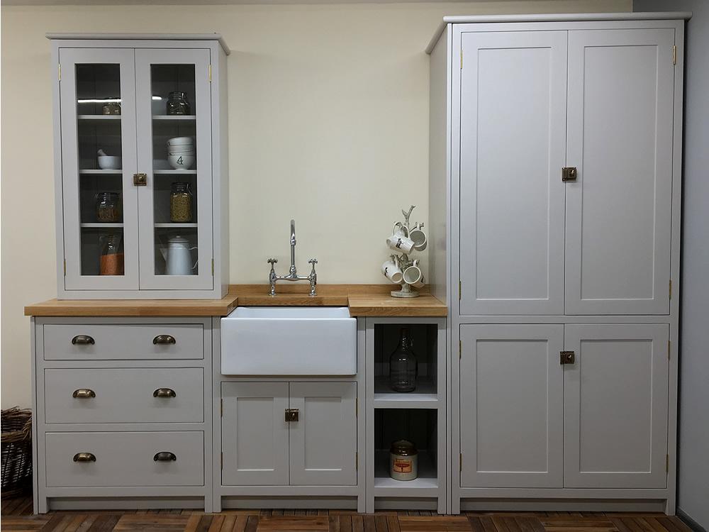 Bespoke Painted Kitchen Wall Cabinets