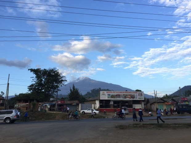 Arusha and Mt Meru
