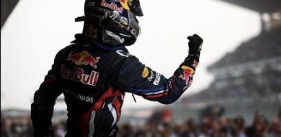 Hat-Trick para Vettel en el GP de India