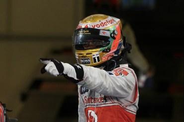 Lewis Hamilton gana el GP de Abu Dhabi