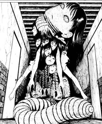 Tomie Horror Manga