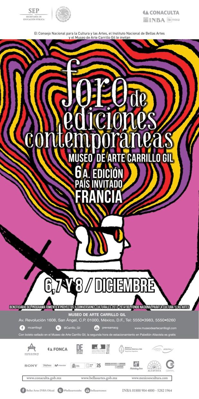 FoEC sexta edición