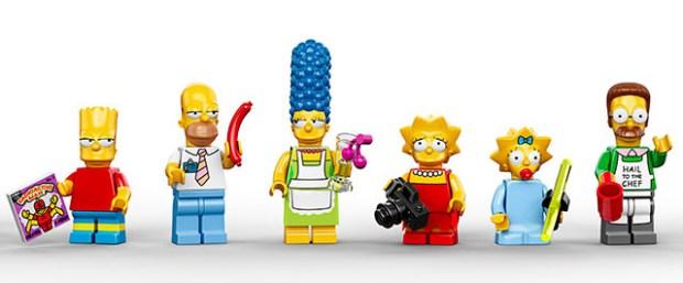 Minifiguras LEGO Simpson