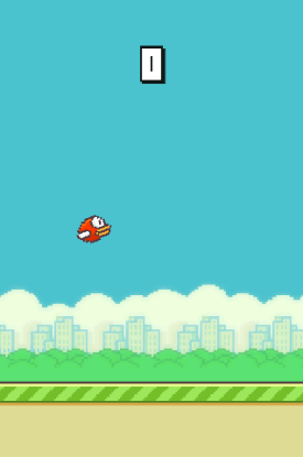 Flappy Bird Playing