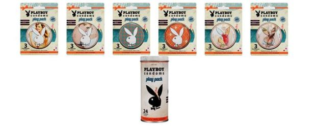 Playboy Condoms Playpack Edición Retro