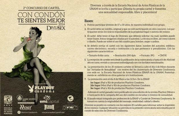 Playboy - Concurso Cartel (Bases)