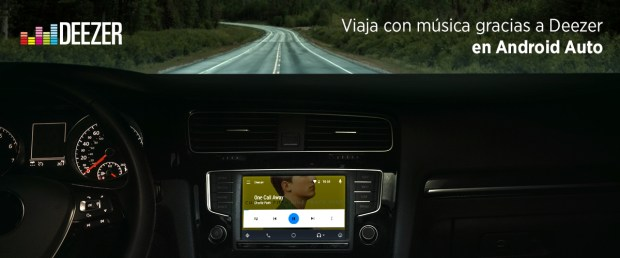 Android Auto Deezer