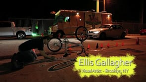 El increíble arte urbano de Ellis Gallagher