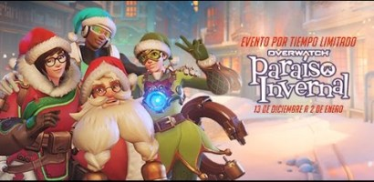 Overwatch anuncia nuevo evento de temporada: Paraíso Invernal – ¡Ya disponible!