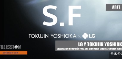 LG y Tokujin Yoshioka celebran la innovación para una vida mejor en el Design Week de Milán