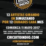 Circuito Indio, la gira de conciertos que llegará a tu ciudad.