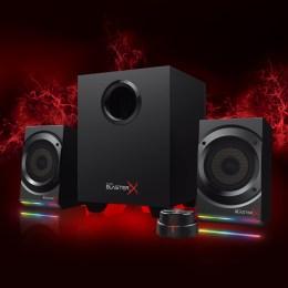 La tecnología BlasterX Acoustic Engine Pro convierte a los Sound BlasterX Kratos S5 en el sistema de audio más avanzado de Creative
