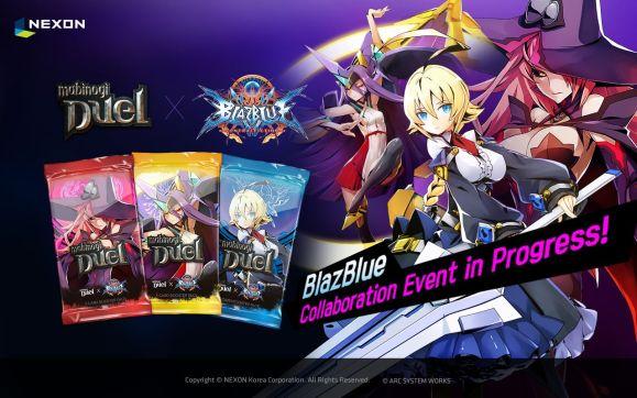 El juego de cartas para móviles,Mabinogi Duel, Recibe a más personajes del videojuego Blazblue