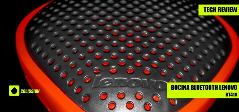 Reseña de la bocina bluetooth Lenovo BT410