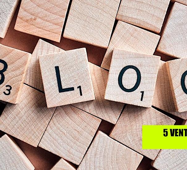 5 ventajas de tener un blog para tu compañía.