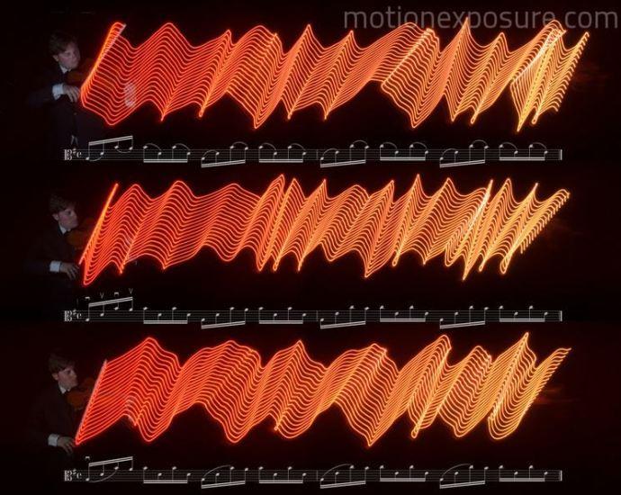 #Fotografía: Viendo la música a través de Light Painting