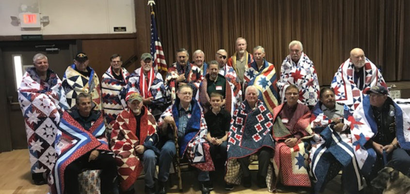 Quilts of Valor Commemoration of Vietnam War Veterans Day